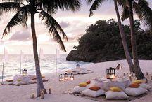 Beach Wedding Ideas / by Angela Wilson Photo