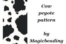 Peyote and loom bracelet patterns / by Better-Art Magia Koralików