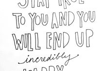 Quotes  / by Sophie McGuire