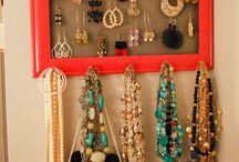 DIY - Jewelry Oranization / by Robin George-Coon