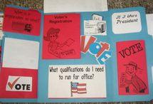 2012 kid's election activities / by Ella Sherman