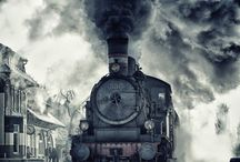 Trains, planes, automobiles. / by Kristen Dyer