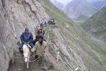 Amarnath Yatra Packages / Amarnath Yatra by Helicopter - Safe, Quick and Affordable. We provide Amaranth Yatra Packages by helicopter from Baltal with return flight tickets from Delhi Srinagar. The Yatra typically starts at Srinagar where tour operators collect you in a group for onward trip.  / by Devraaj Negi