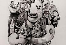 Doodles / by Jette Löwén Dall
