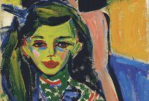 Kirchner's Hair Inspiration  / by Museo Thyssen-Bornemisza