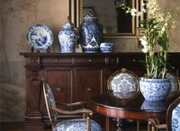Home / Blue and white, yellow.  A pinch of red.  Traditional, classic, french, country, antique, rustic, comfortable.  / by Chelle Ingram