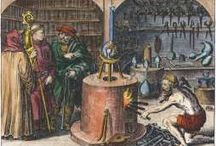 ALCHEMY AND SECRET ELEMENTAL FORMULAS HIDDEN IN ARTWORK / THESE PICTURES CONTAIN SECRET AL-CHEMICAL FORMULAS THAT WERE HELD SECRET FOR HUNDREDS OF YEARS.  CAN YOU FIND OUT WHAT THEY MEAN?... / by Knowledge Left Behind