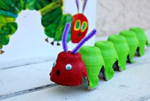 Preschool Bugs Crafts / by Christy Price