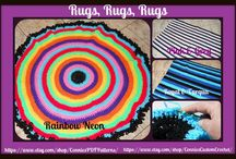 Hand Crocheted Rugs By Connie / by Connie's PDFPatterns