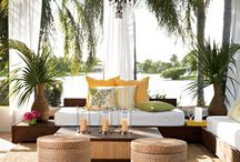Tropical Patio Paradise / by Katie Riedinger