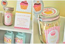cupcake party theme / by Jennifer Webb Smith