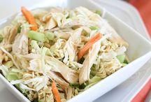 Salad ideas / by Nicole Reagan