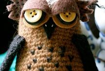 All things crochet amigurumi toys  / by LittleOwlsHut