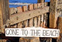 GONE TO THE BEACH!! / by Mandy Tarpey