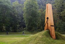 Earthworks Art / Large scale art using elements of both the landscape and built art forms. / by Tim Johnson