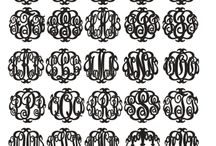 monogram / by shopfreak