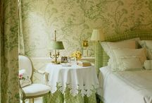 bedrooms / by The French Tangerine (jan vrana)