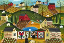 Folk Art Quilt / by Patricia Belyea