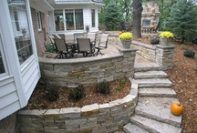 Outdoor Living / At Hedberg, we believe in more than patios. We believe in more than gardens. We believe in outdoor living areas that engage family and friends in recreation, breaking bread together, entertaining, unwinding after a busy day and just plain having fun. / by Hedberg Landscape