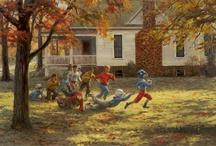 autumn and halloween / by Pam Winn