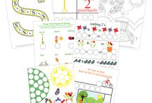 Dot Marker printables / The fun Dot marker Printables for various types of learning! / by Cassie Osborne (3Dinosaurs.com)
