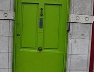 irish welcome (doors) / by Molly Peller