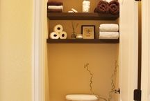 Bathroom ideas / by Elizabeth Ray