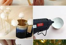 Christmas crafts  / by Lindsay Foster