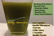 healthy smoothie and juiced drinks / by Raemia Robinson