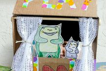 Puppet Theaters diy / by Camie Thomas