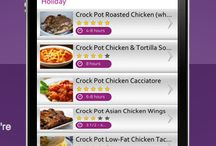 Get Crocked App / The Get Crocked App - over 1000 crock pot recipes! Create shopping lists, rate recipes, share and connect with other crockers. / by Jenn - GetCrocked.com