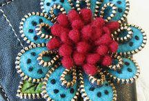 Zipper art / Hand made / by Macan Rosabal