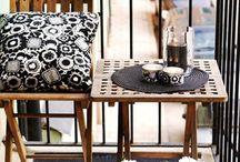 Petite Patio/Balcony Ideas  / by Soroya Greene Giles