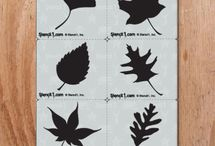 FALL DIY ART / CRAFTS / Fall themed projects to inspire your creativity / by Ed Roth / Stencil1