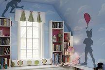 peter pan bedroom / by Nichole Wickberg