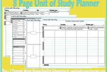 Planning home/school / by Tiffany Leaders