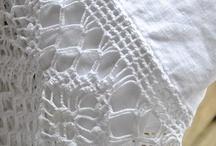 Crocheted Edgings / by Joellen Watkins