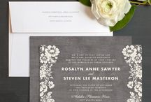 Invitations / by Leah Shelley