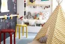 playroom ideas / by Gina Tripi Stephens