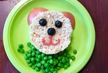 Cute food for kids / by Prang Chininthorn