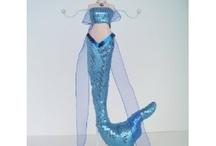 mermaid ideas / by Cindy Edwards