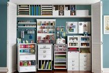 Crafts / Crafts and craft storage ideas  / by Alexia Noble