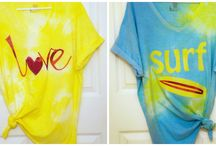 Rit Dye Summer Fashions / Updating your summer wardrobe with Rit Dye is fun, easy and inexpensive. Check out these great examples. / by Rit Dye