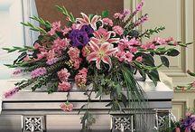 Flower arrangements / by Sarah's Wynnewood Flower Bin