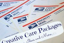 CARE PACKAGE CRAZY / by Missy Shaffer