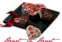 Heart to Heart  Valentine's Day 2013 / Richart's latest Valentine's Day gourmet French chocolate collection is about celebrating heart to heart relationships and moments, strong friendships and love. / by Richart Chocolates