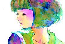 Fashion Sketches / by Elena Murillo Caballero