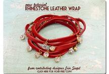 Jewelry: Cord, Fabric, Leather, Macrame & Ribbon / by Dulce RL