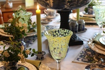 Tables & Tablescapes / by Marianne Conner