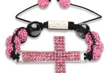 F.O.G. CROSS CHRISTIAN BRACELET - Princess Pink  / Be bold and stylish with the NEW F.O.G. Cross Bracelets! Each bracelet is specially hand-made, light weight and adorned with brilliant cut pave crystals for a beautiful shine. The F.O.G. FAVOR OF GOD logo is carved at the tie of bracelet. These cross Christian bracelets are a symbol of God's favor, faith, peace and happiness! Rock your F.O.G. Favor Bracelet in style and stand out like a true star! #FOG Christian Bracelets  #Christian Cross Bracelets #Christian Bracelets / by F.O.G. FAVOR OF GOD